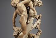 300px-Bacchanal-_A_Faun_Teased_by_Children_MET_DP248148